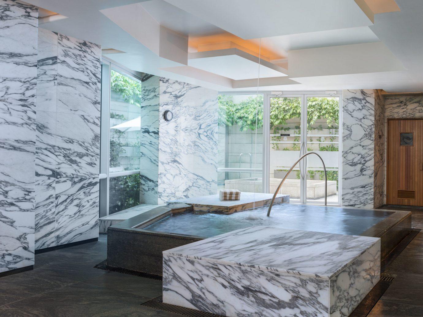 Health + Wellness Hotels Spa Retreats indoor floor ceiling room property house building estate home interior design real estate living room mansion furniture