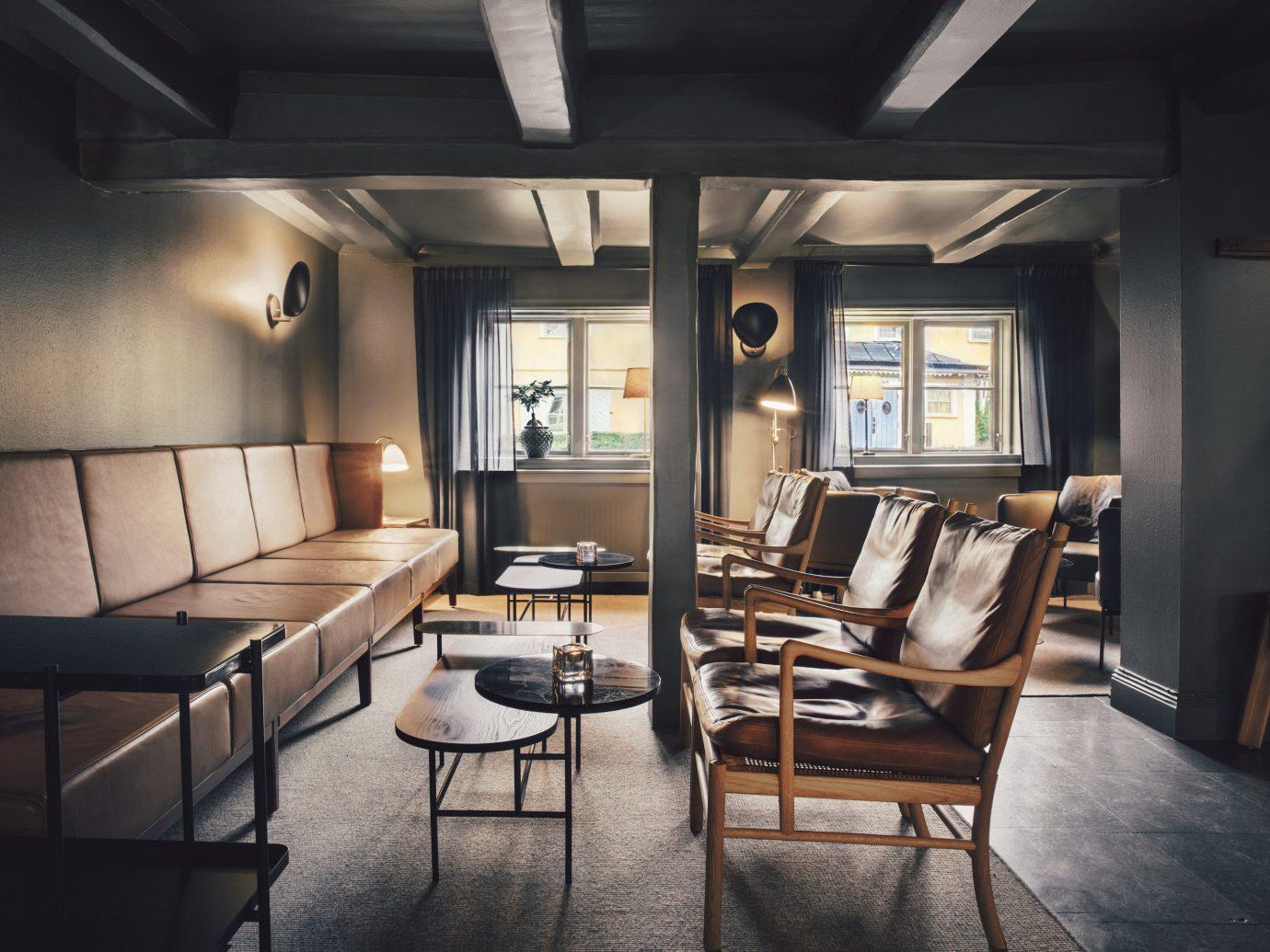 Hotels Stockholm Sweden floor indoor chair room interior design ceiling furniture table living room loft window interior designer