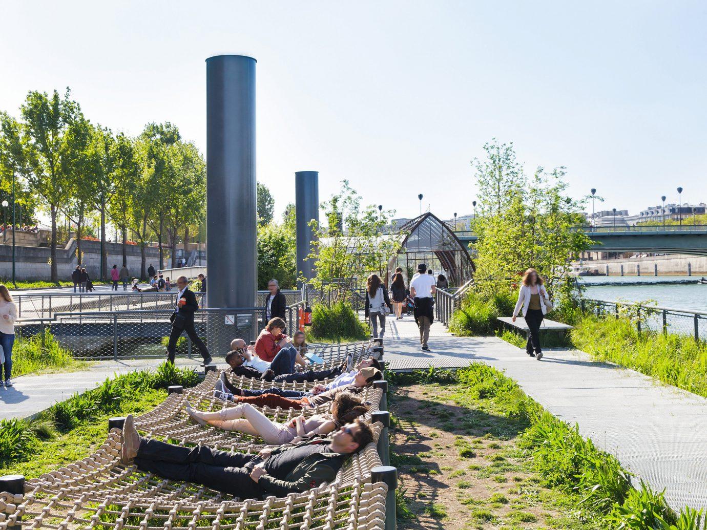 Romance Trip Ideas sky outdoor transport urban area vacation tourism Garden park waterway town square Playground