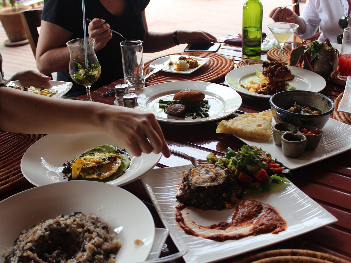 africa Trip Ideas table plate food meal dish brunch cuisine lunch breakfast appetizer dinner supper meze asian food caucasian cuisine full breakfast meat animal source foods different several