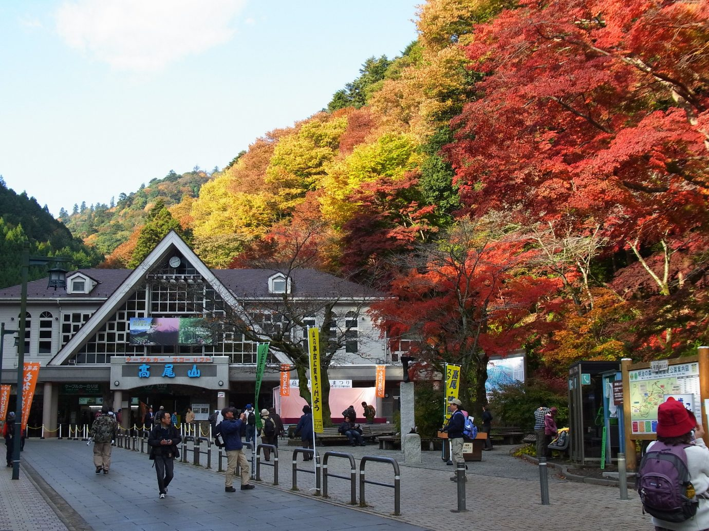 Arts + Culture Festivals + Events Travel Tips outdoor tree sky Town season autumn woody plant people flower park Playground