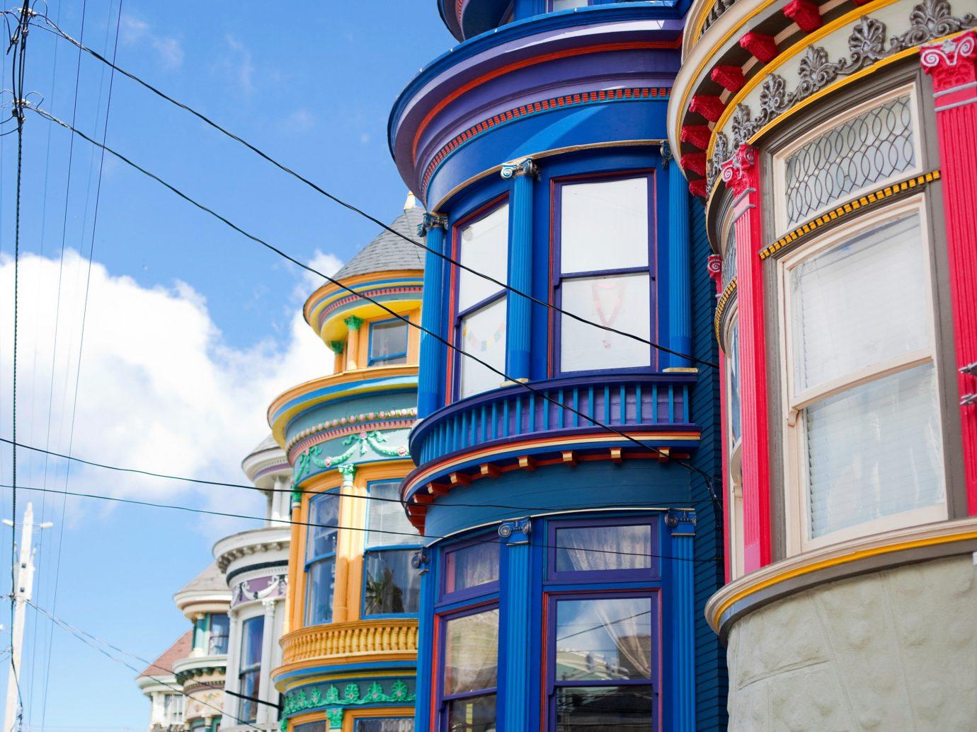 Colorful Exterior of Hotel Del Sol