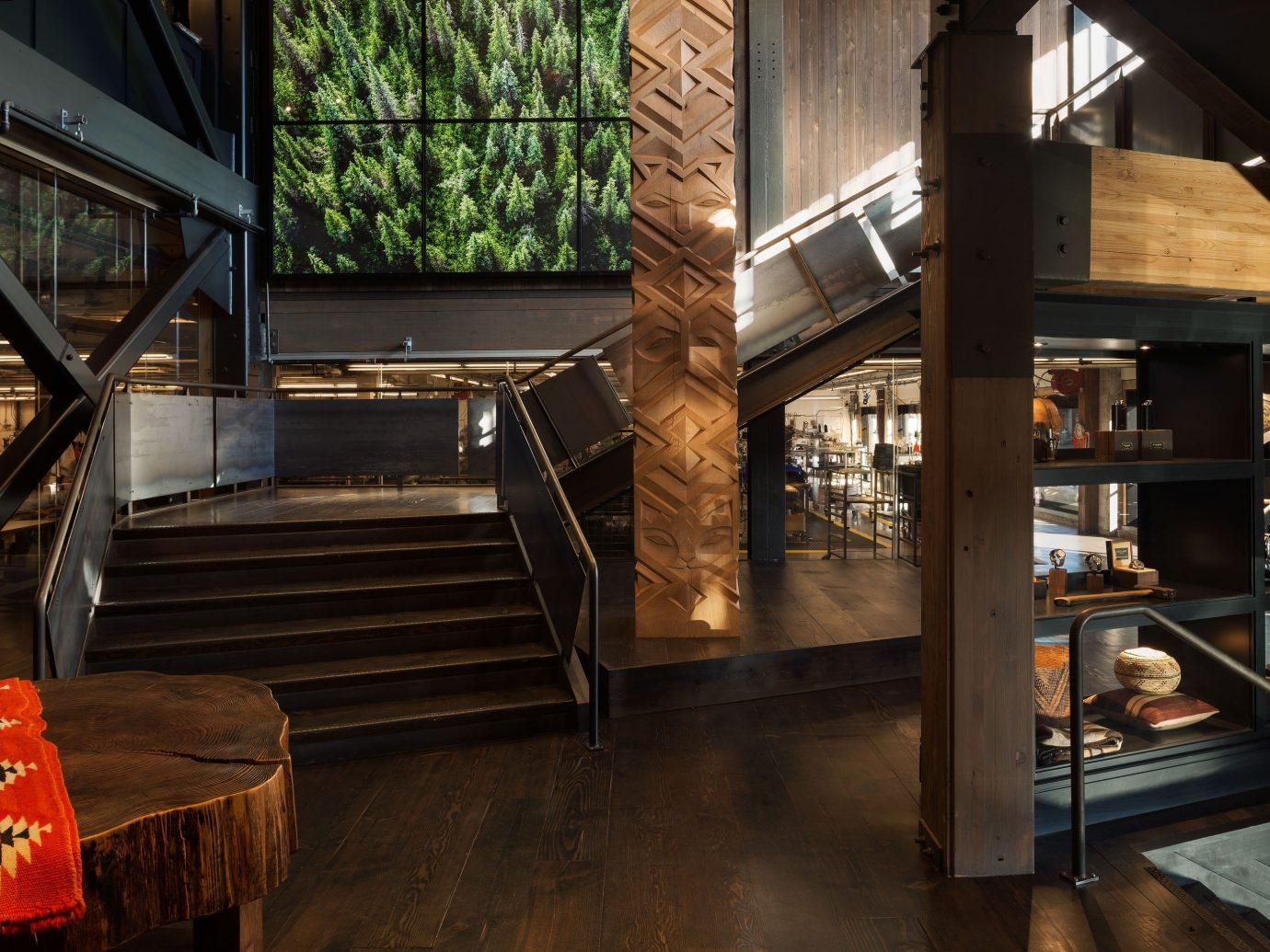Summer Series indoor floor house Architecture interior design wood home estate Design restaurant tourist attraction Bar step