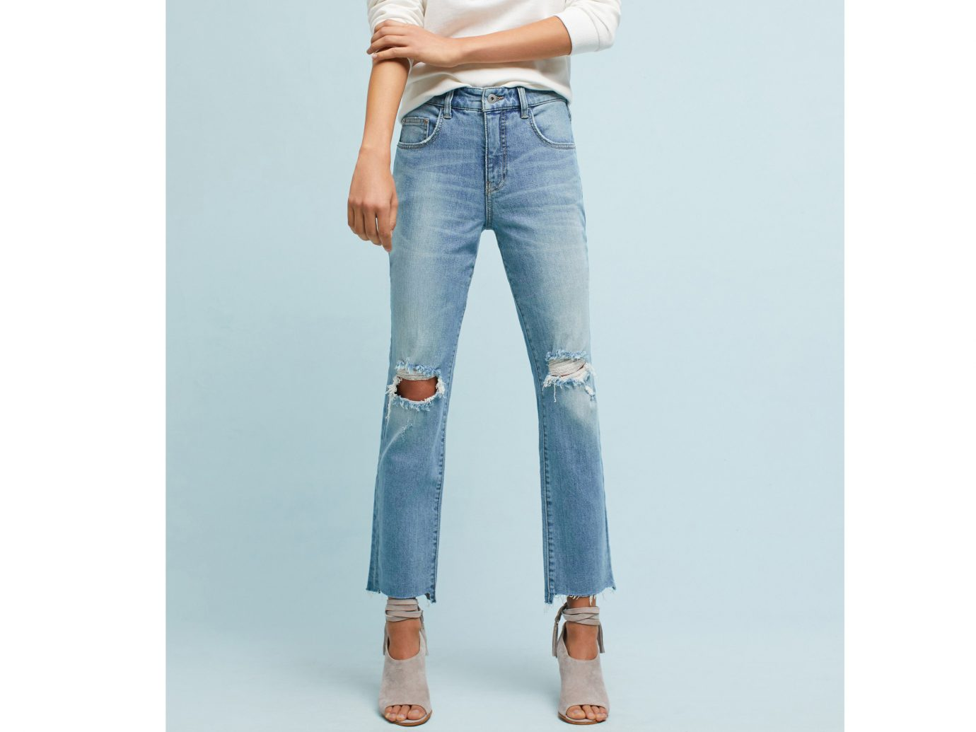 Fall Travel Style + Design Travel Shop Weekend Getaways person jeans denim clothing trouser standing waist pocket trousers joint button