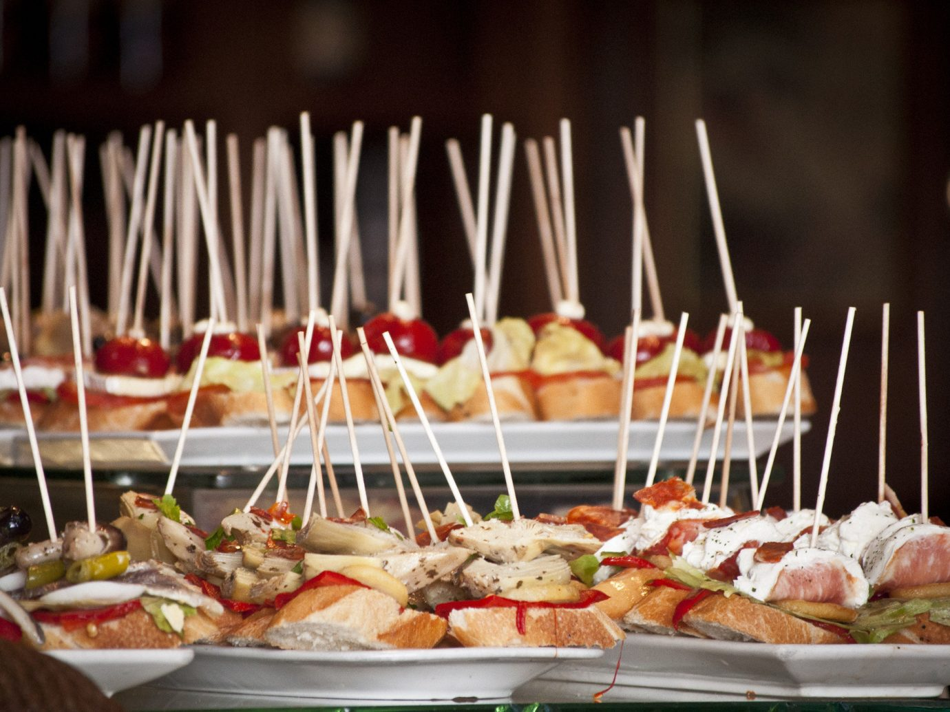 Trip Ideas plate food table meal buffet dish brunch sense cuisine pincho restaurant