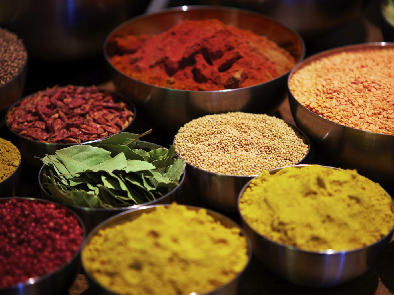 Travel Tips food color indoor different various many spice mix produce several baking indian cuisine flavor dessert variety