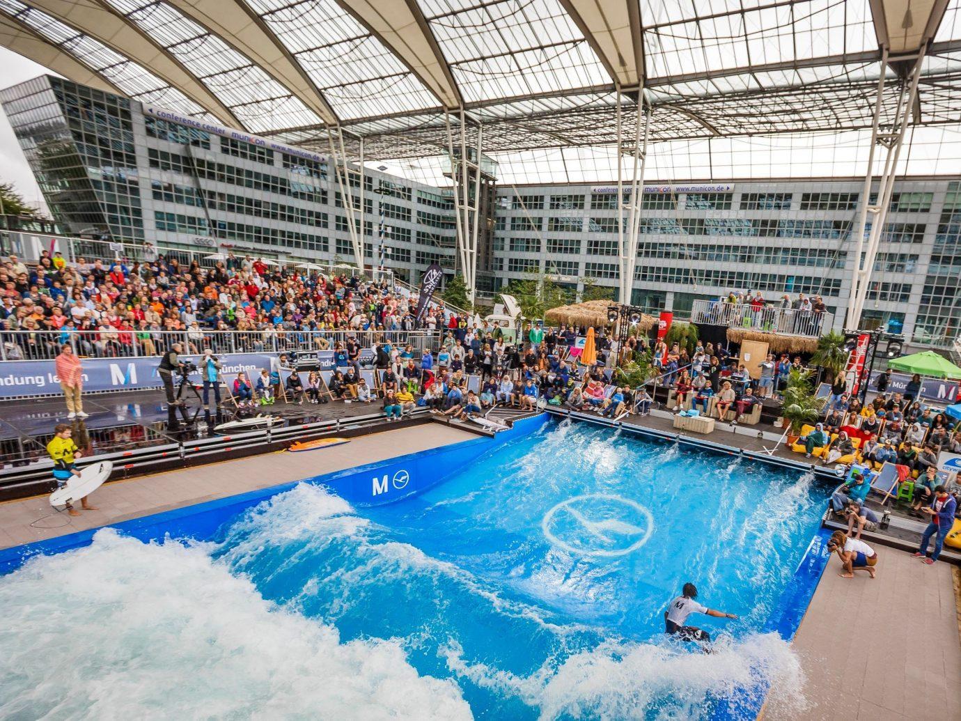 Offbeat leisure swimming pool sports sport venue endurance sports swimming Water park