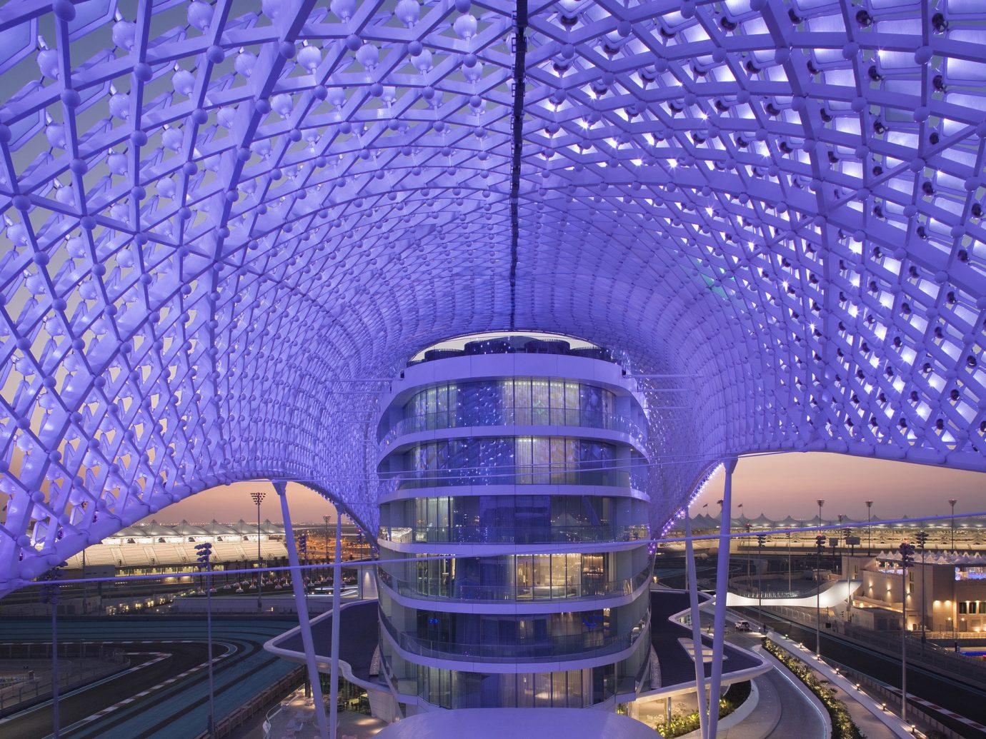 Hotels landmark Architecture skyscraper ceiling station reflection tourist attraction symmetry convention center stadium public transport cityscape subway