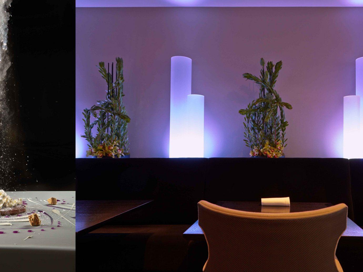 Food + Drink table indoor stage interior design Design