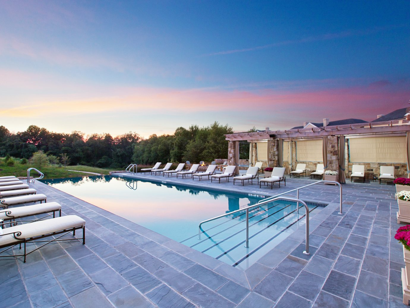Country Hotels Pool Ranch Resort Romance sky outdoor ground swimming pool property leisure estate vacation Villa real estate condominium mansion Deck