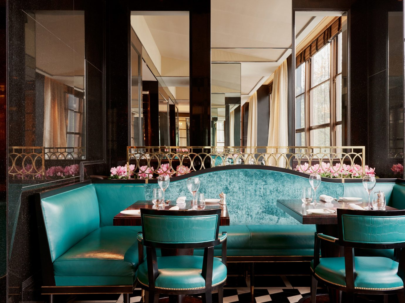 Hotels window chair room restaurant estate interior design Bar meal Design Lobby blue function hall furniture set
