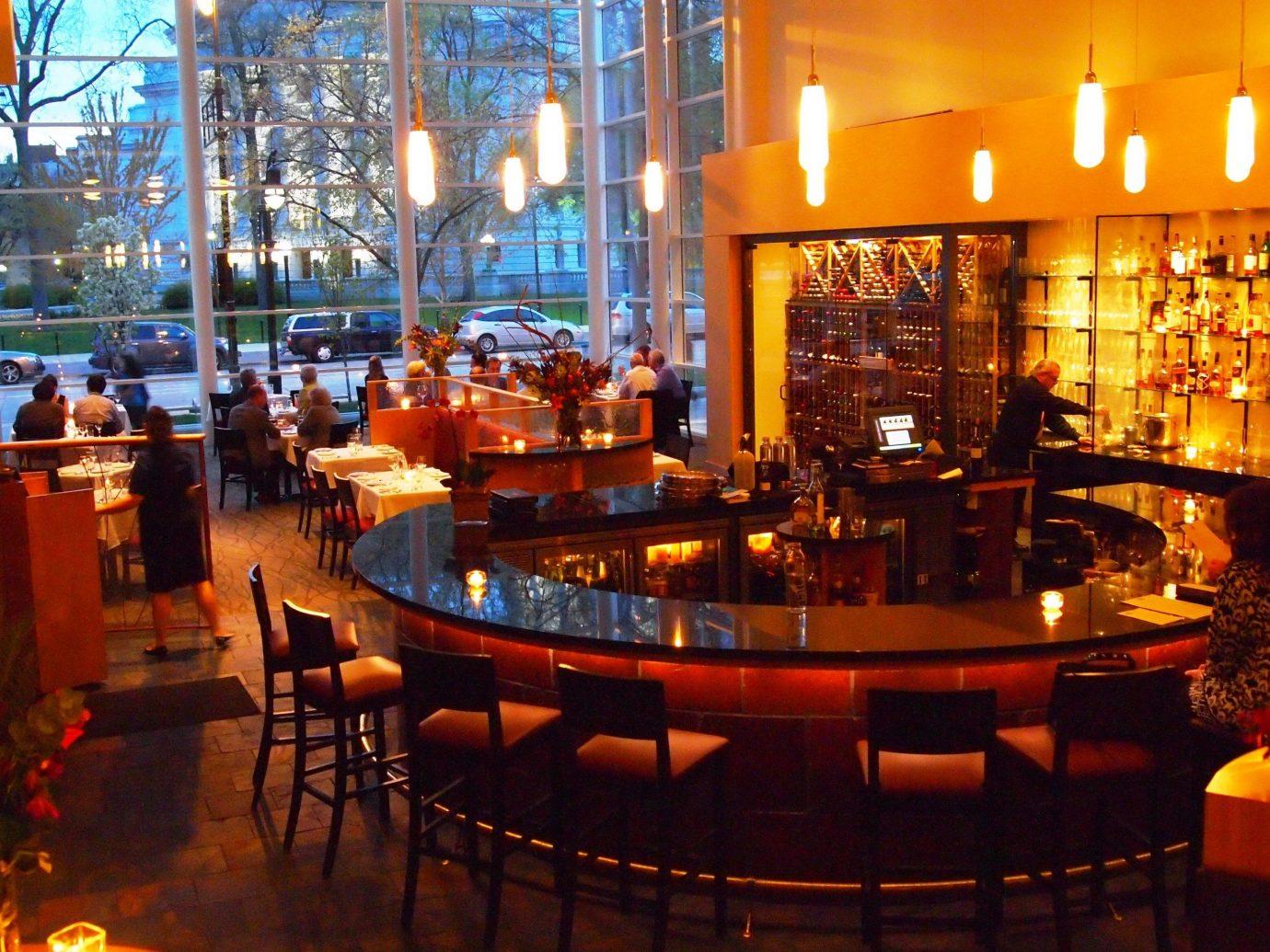 Road Trips Trip Ideas table indoor floor restaurant Bar ceiling café tavern interior design coffeehouse