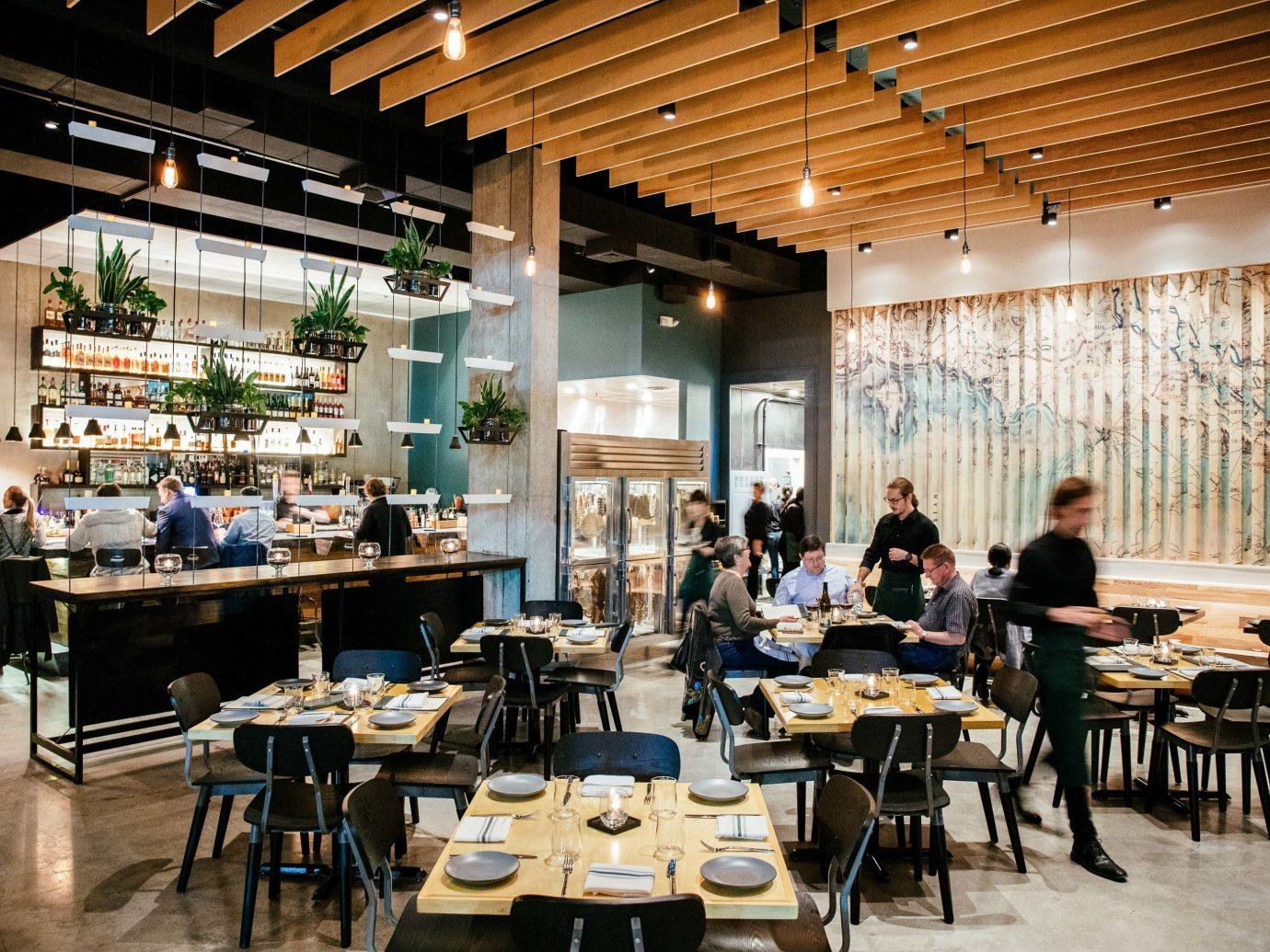 Boutique Hotels Hotels Trip Ideas table floor indoor restaurant ceiling interior design café coffeehouse cafeteria food court