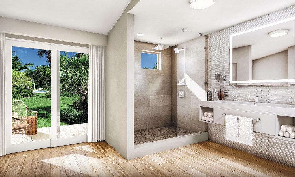 Bathroom at Sandals Royal Bahamian