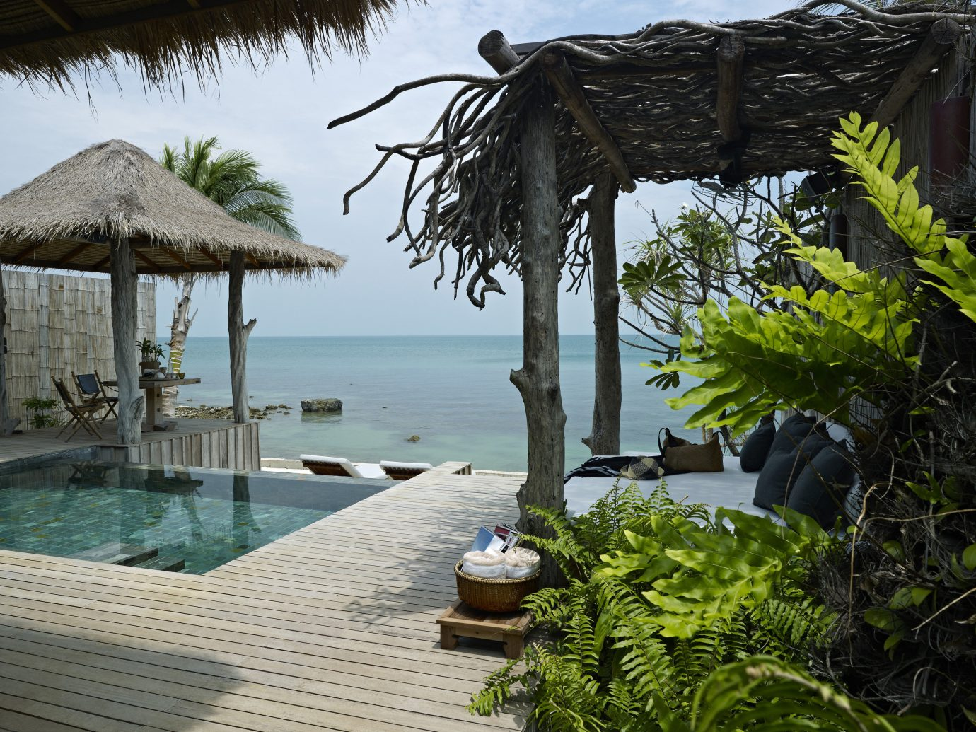 All-Inclusive Resorts Beach Hotels tree outdoor water Resort vacation swimming pool estate arecales tropics Villa backyard Jungle shade Garden surrounded