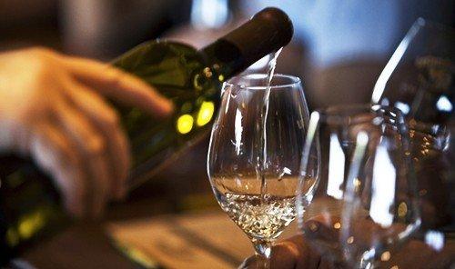 Food + Drink indoor Drink alcoholic beverage wine alcohol glass distilled beverage beverage champagne