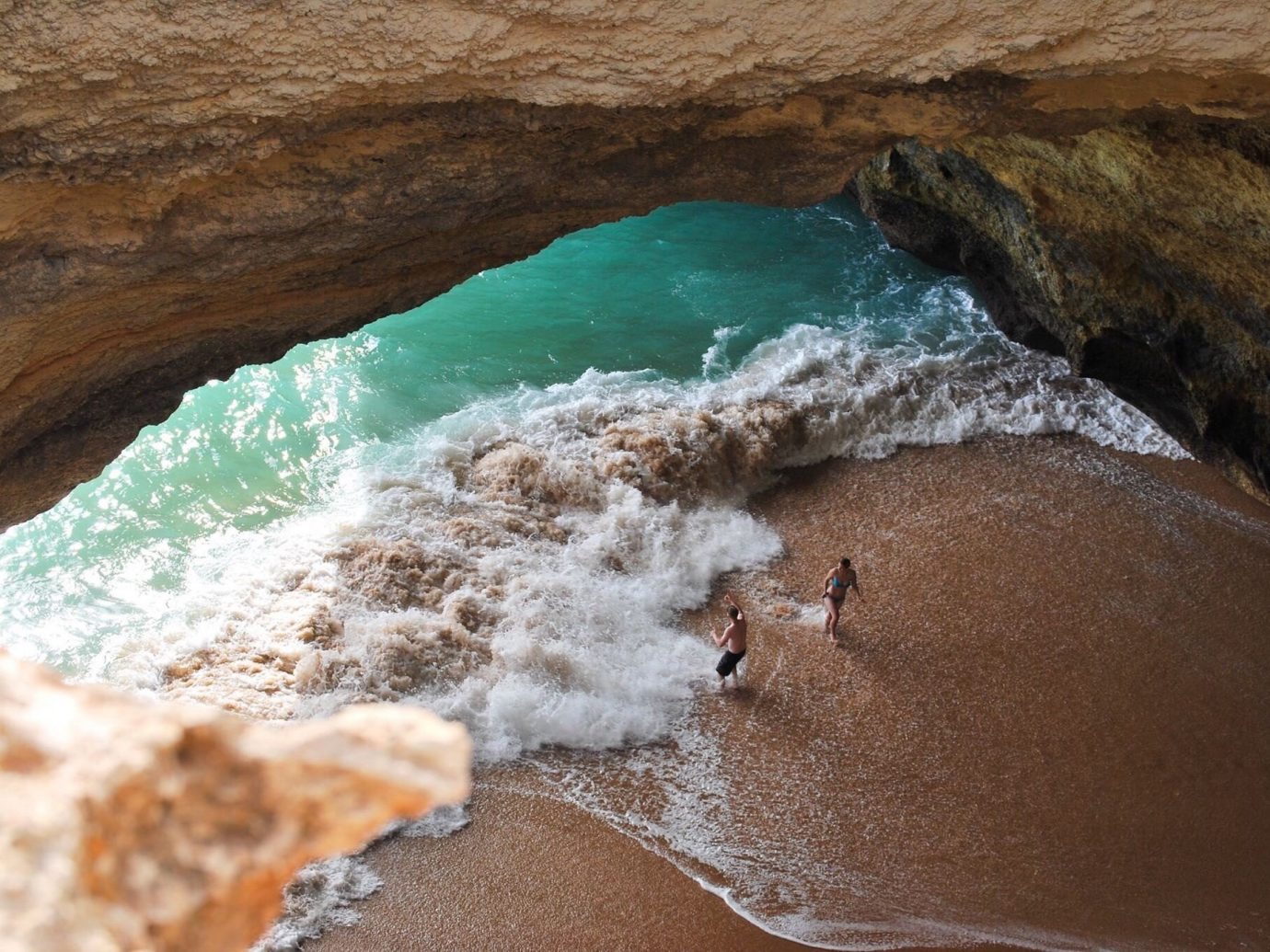 Travel Tips Trip Ideas rock landform geographical feature water Nature Sea Coast River wadi wave Beach sand formation