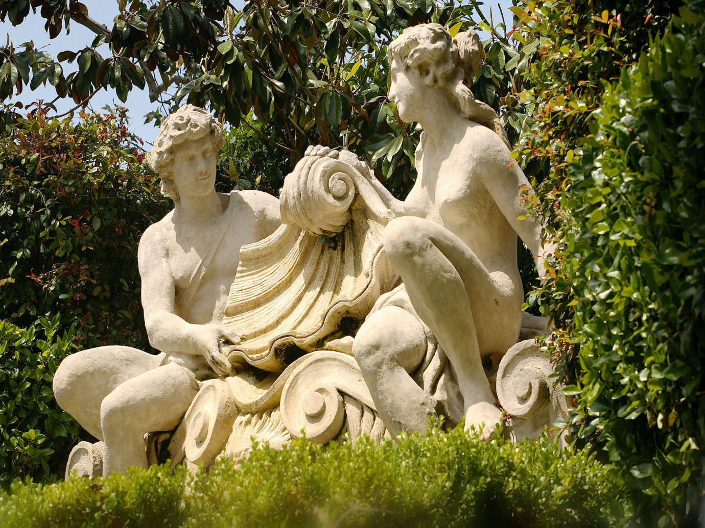 Statues At Rancho Bernardo Inn