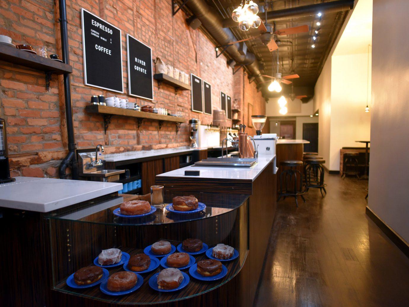 Food + Drink indoor floor room restaurant interior design home Kitchen Design Bar meal
