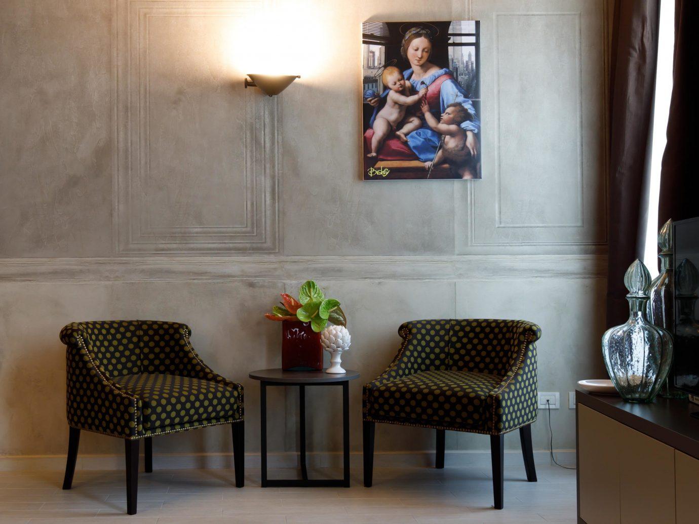 Hotels Italy Milan floor wall indoor room furniture interior design table Living chair living room home couch window flooring Bedroom area lamp