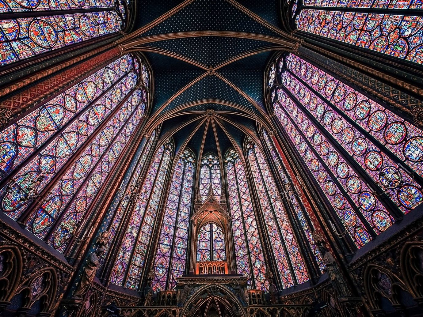 Romance Trip Ideas building stained glass landmark gothic architecture glass chapel cathedral window dome symmetry place of worship material medieval architecture religion byzantine architecture basilica arch daylighting facade