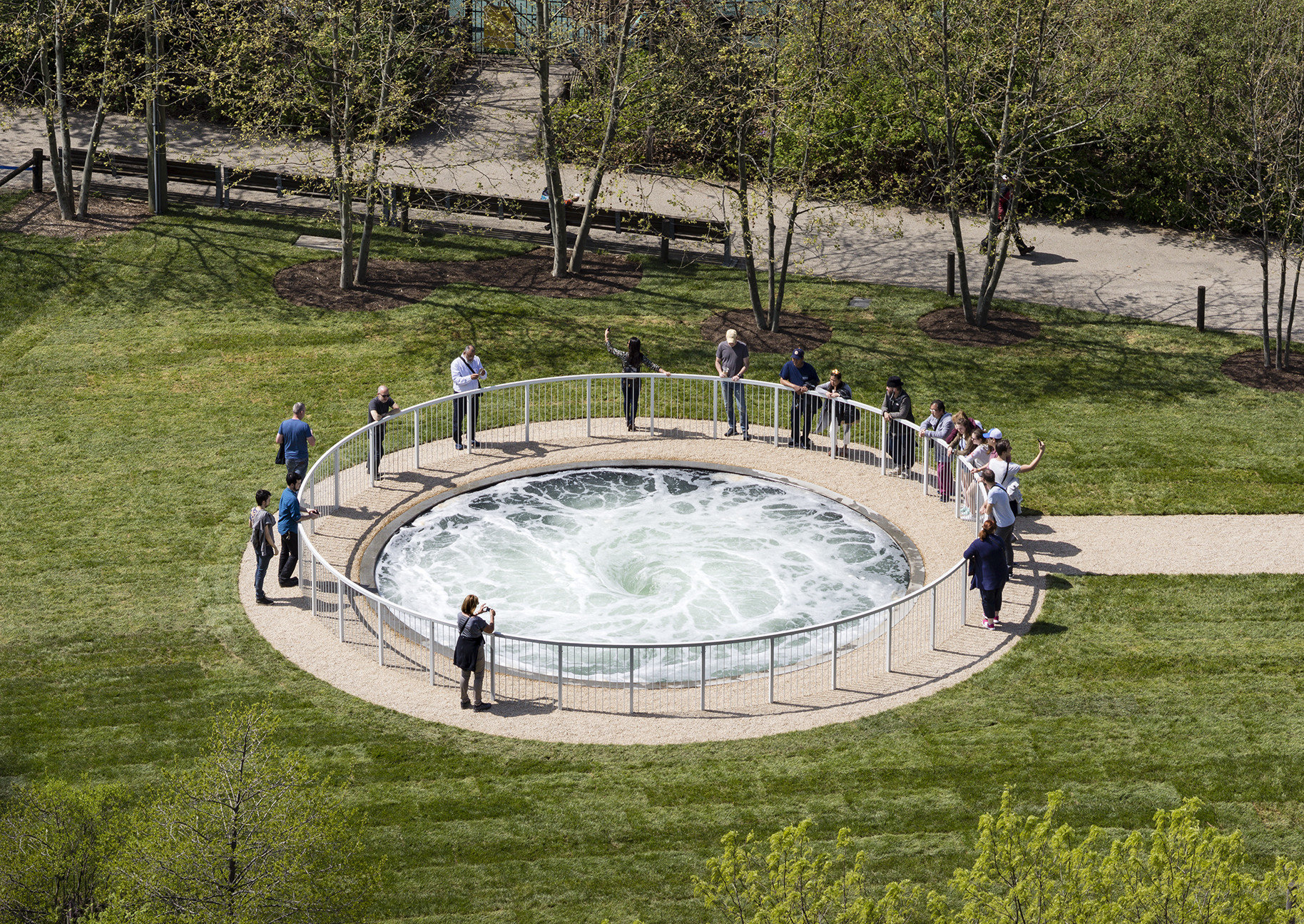 grass Offbeat tree outdoor park water water resources leisure water feature recreation grassy lush