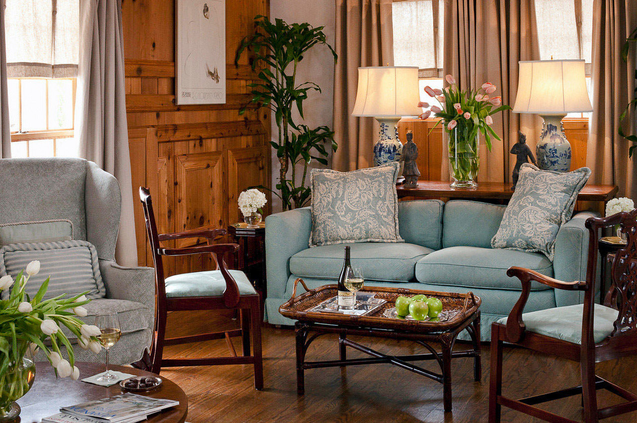 Boutique Hotels Hotels Romantic Getaways Romantic Hotels floor living room Living indoor room chair furniture home interior design couch table loveseat window house wood Suite area arranged