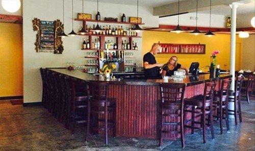 Food + Drink floor indoor property room Bar restaurant real estate cottage area dining room
