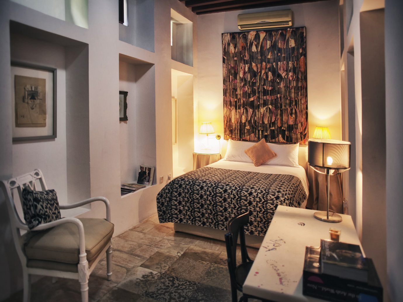 Dubai Hotels Luxury Travel Middle East indoor wall floor room interior design Suite ceiling Bedroom furniture home interior designer hotel window