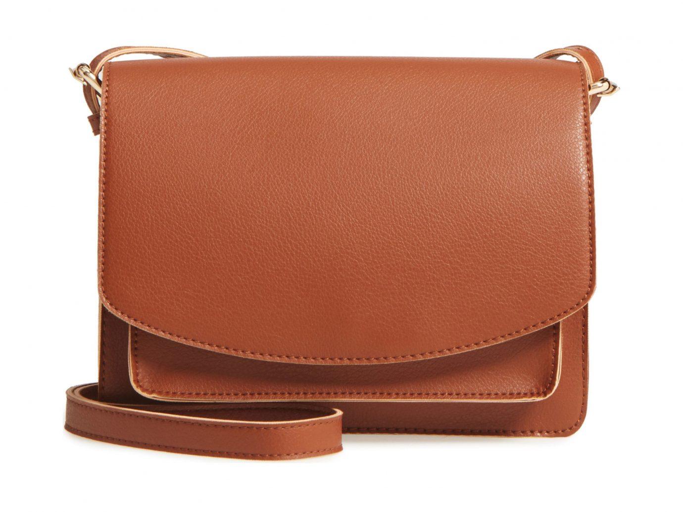 Morocco Packing Tips Style + Design Travel Shop bag brown leather shoulder bag product messenger bag handbag caramel color product design peach strap
