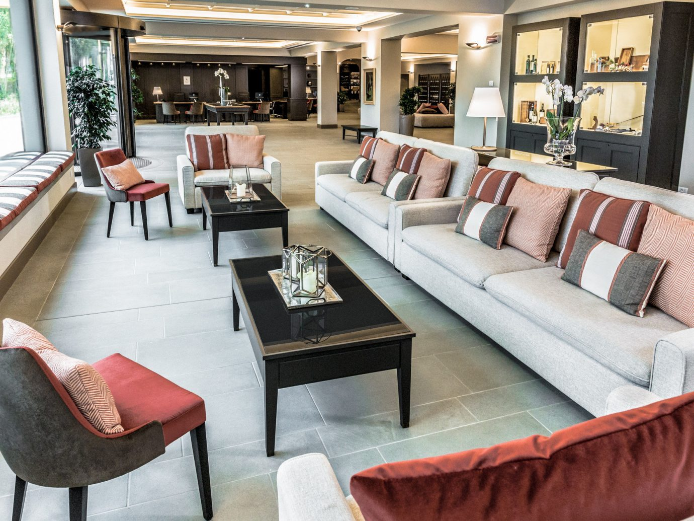 Italy Trip Ideas floor Living sofa indoor room table chair window living room property furniture Lobby yacht interior design vehicle estate Suite home Boat passenger ship area seat decorated leather