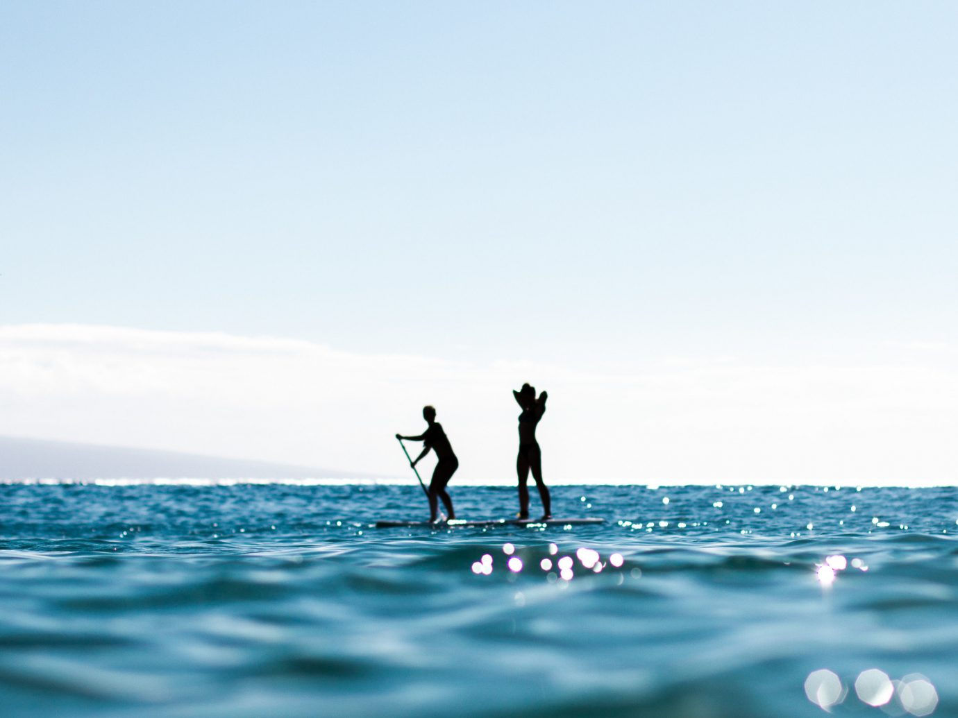 Beach sky water outdoor surfing sailing Sea Ocean water sport horizon wind wave sports boating wave windsurfing surfing equipment and supplies surfboard wind paddle surface water sports boardsport