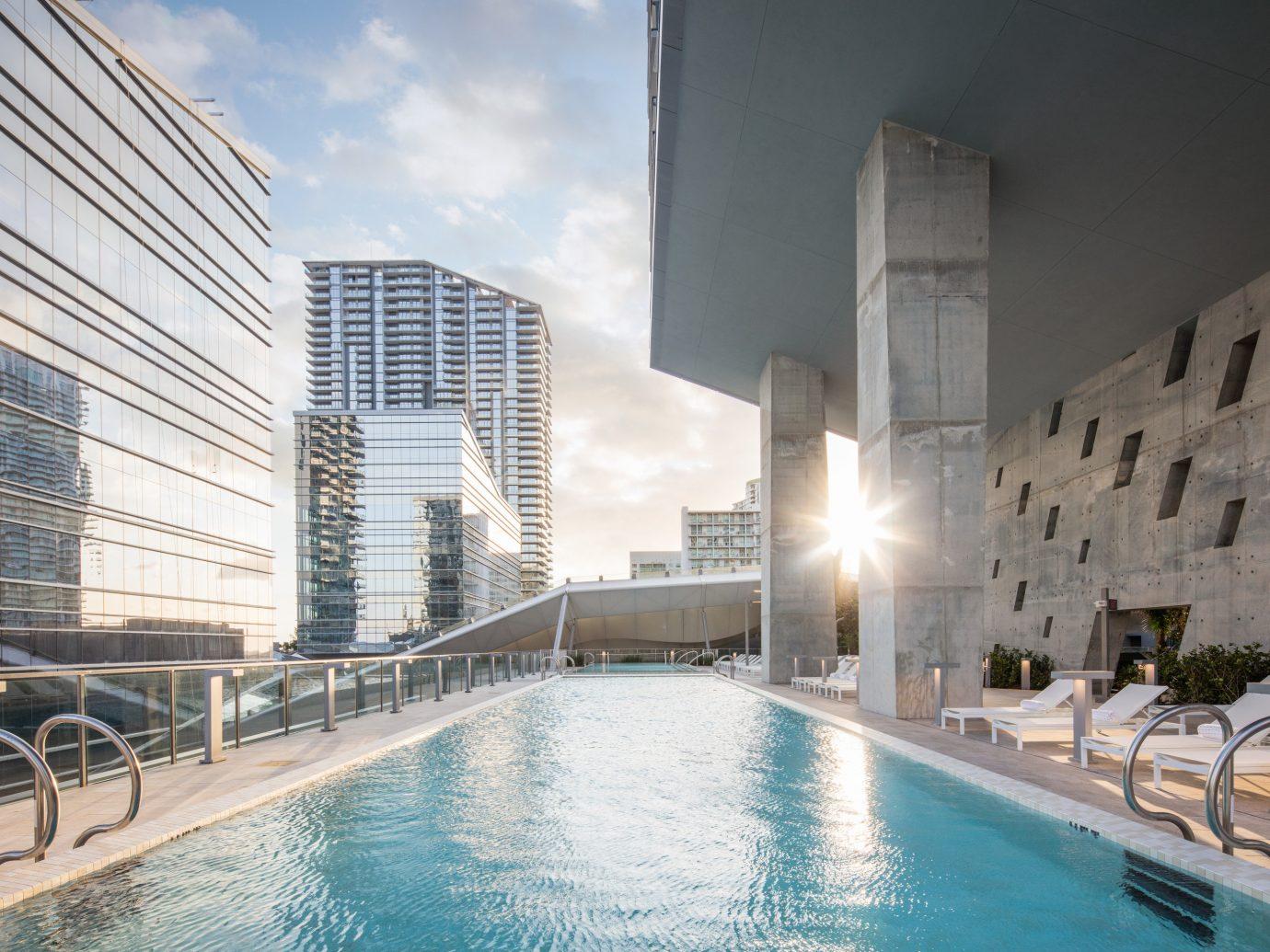 Trip Ideas building outdoor Architecture swimming pool condominium plaza estate Resort
