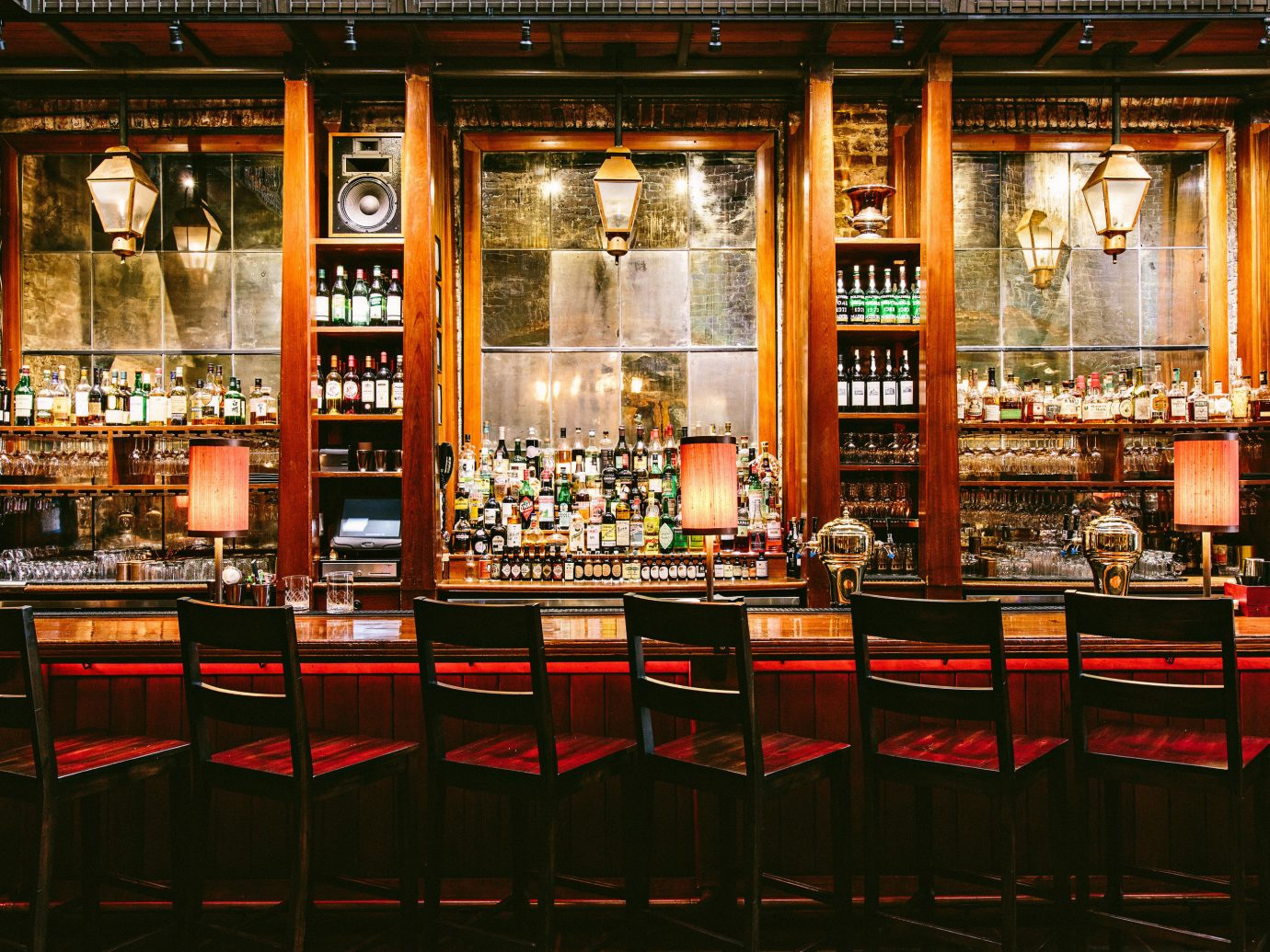 Food + Drink window building Bar liquor store store Shop