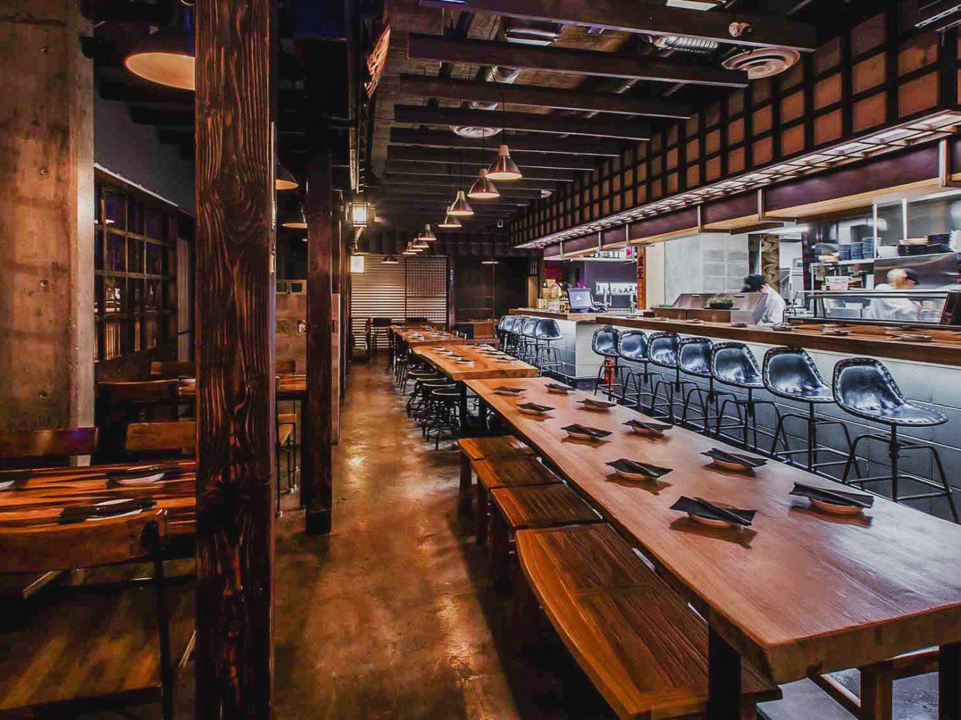 Alberta Canada Road Trips interior design restaurant tavern