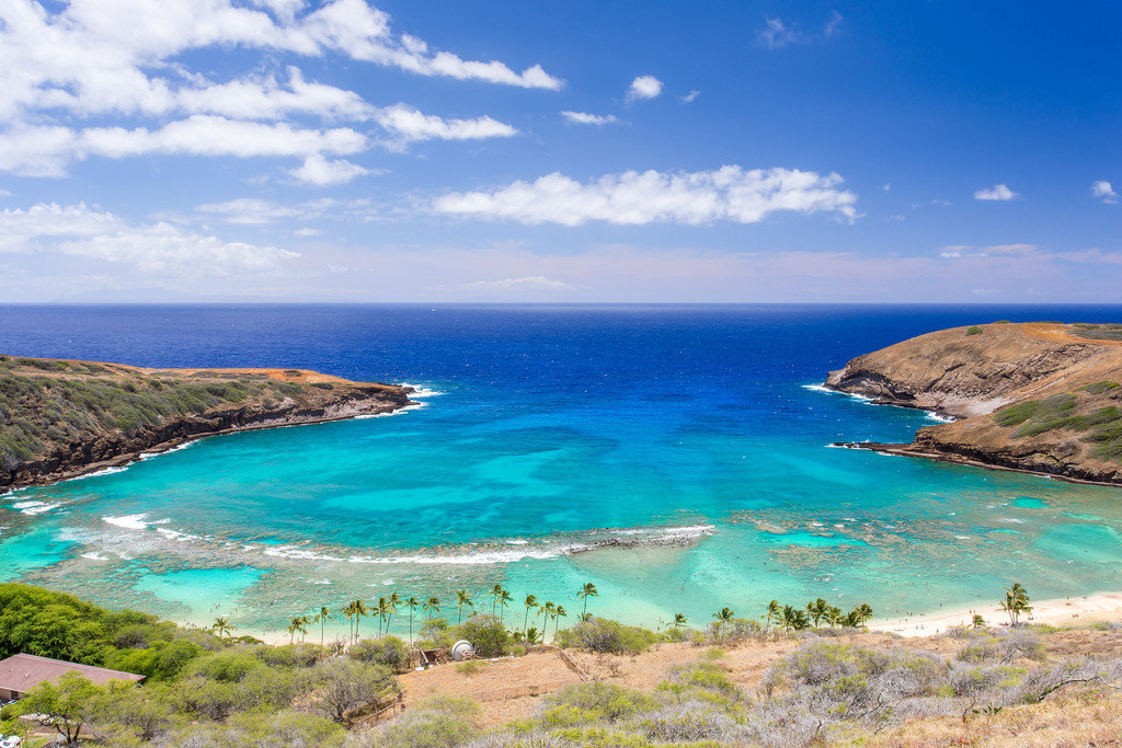 Beach in Honolulu, Hawaii