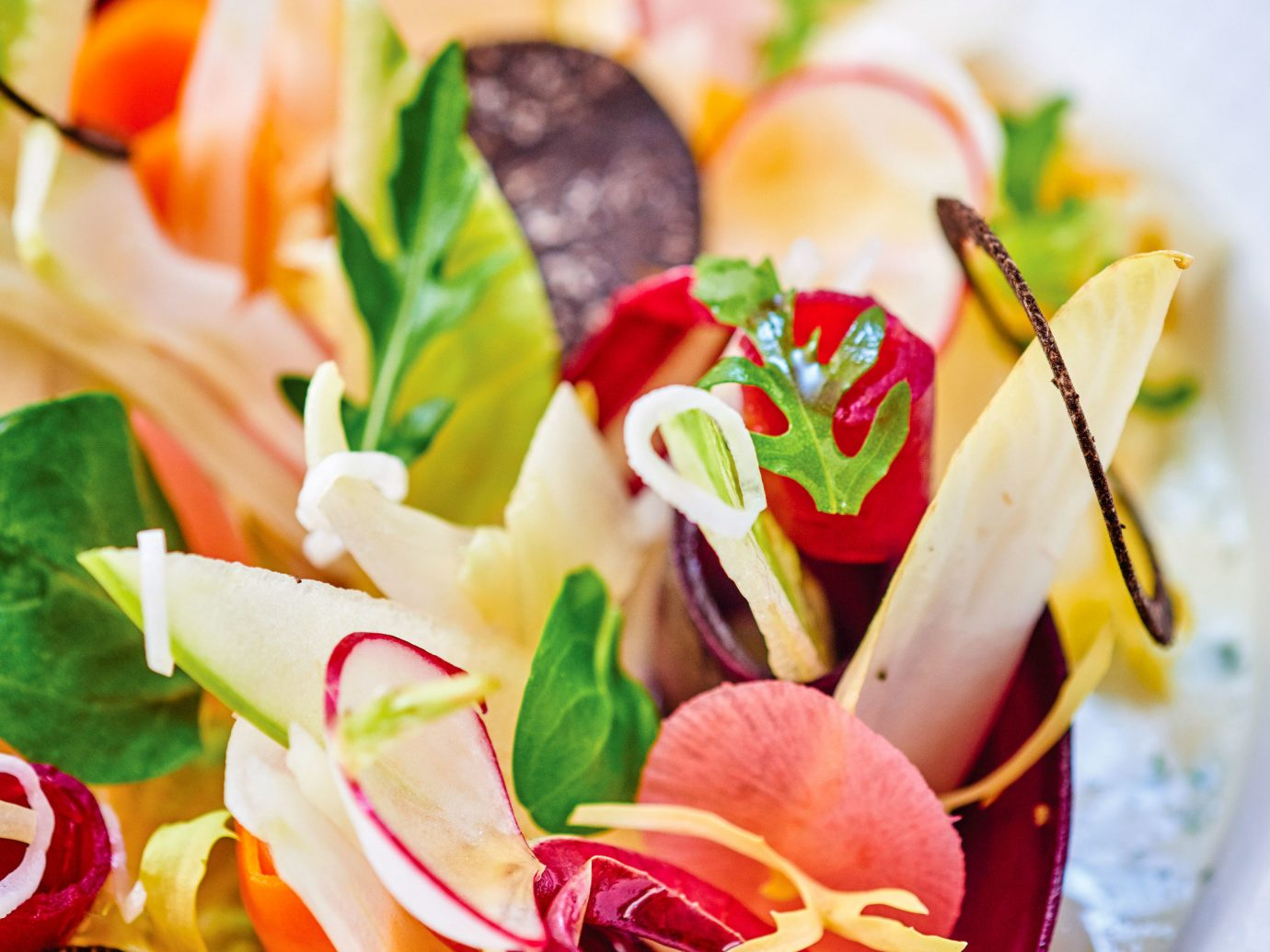 Food + Drink Romance food dish appetizer cuisine vegetable salad vegetarian food hors d oeuvre garnish finger food canapé recipe fruit plant fresh containing colored