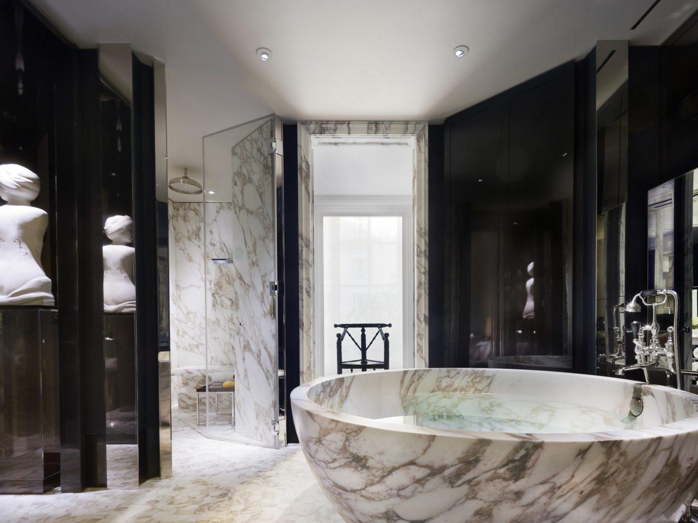 Hotels Luxury Travel indoor window room bathroom interior design home estate sink bathtub interior designer tub Bath