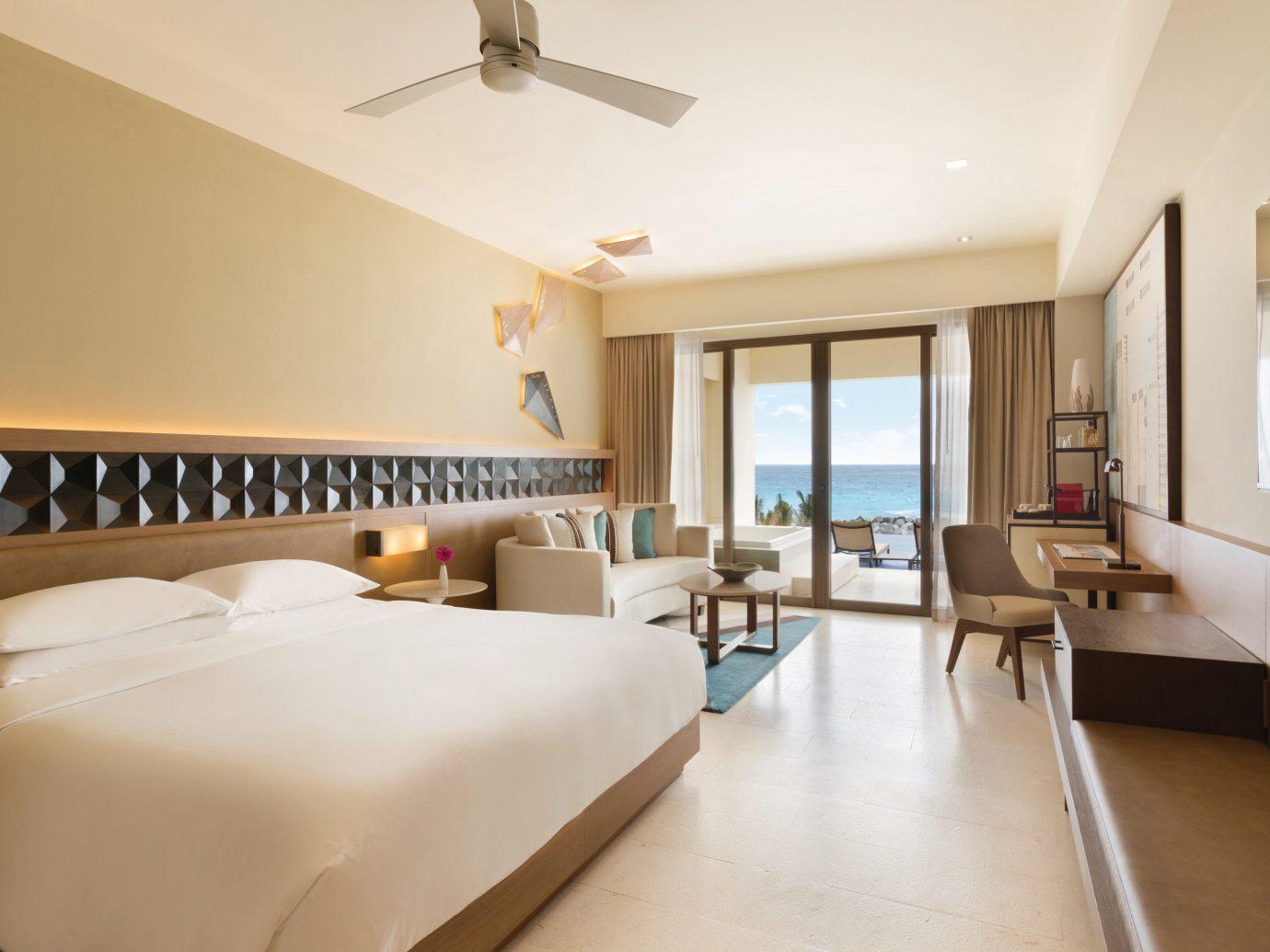 Bedroom at Hyatt Ziva Cancun