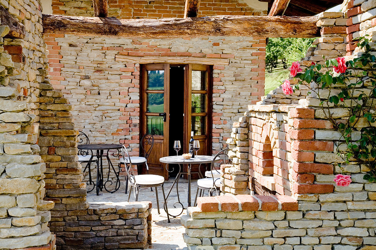 Food + Drink Hotels Italy Luxury Travel Trip Ideas building brick stone outdoor wall window stone wall outdoor structure facade building material step
