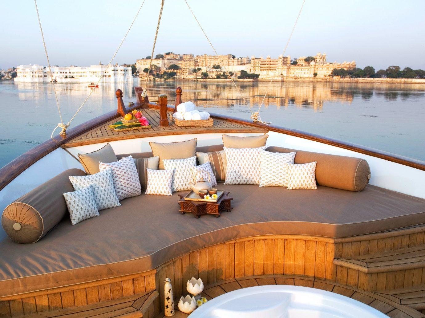 Boat Elegant Luxury Resort Scenic views Travel Tips Waterfront sky water vehicle passenger ship outdoor ship yacht luxury yacht watercraft estate