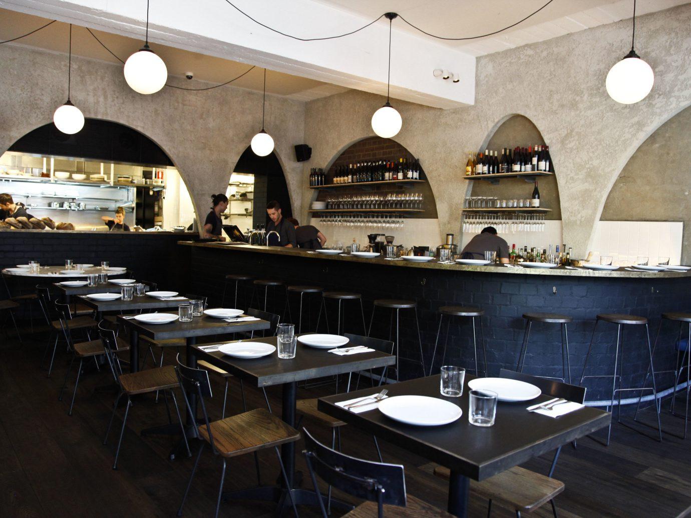 Trip Ideas indoor floor table restaurant Bar interior design meal café cafeteria cooking