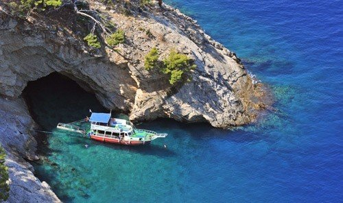 Trip Ideas rock outdoor water mountain Nature landform geographical feature rocky Coast vehicle cliff Sea sea cave channel bay terrain cape waterway islet Island cove stone
