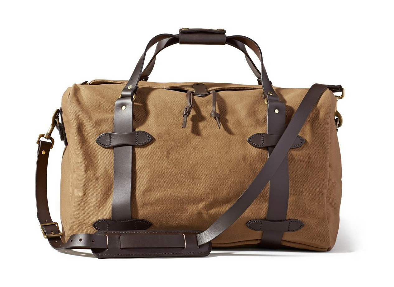 Style + Design bag accessory luggage brown piece leather handbag shoulder bag product hand luggage baggage beige product design duffel bag luggage & bags brand metal strap tan