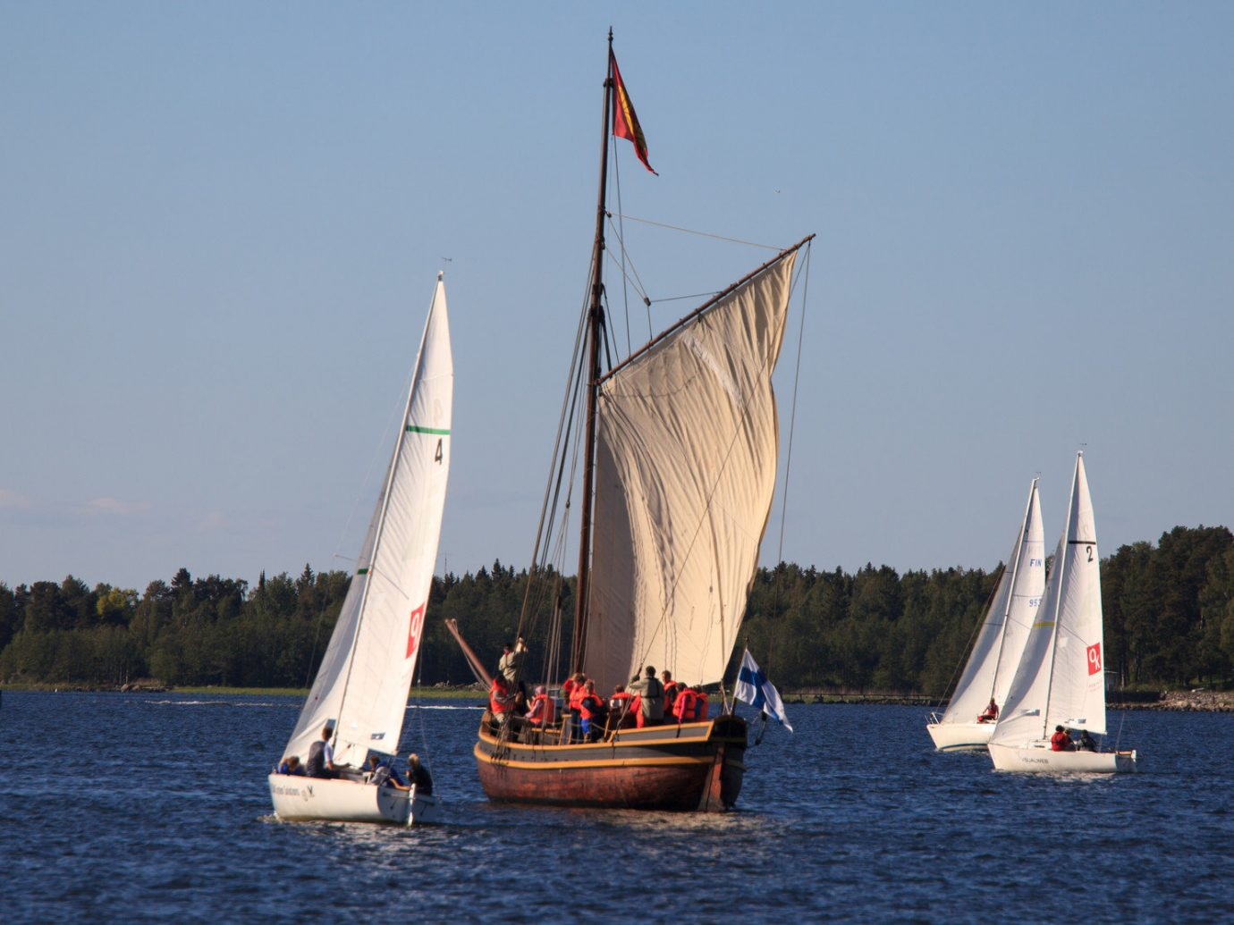 Finland Trip Ideas water outdoor sky watercraft Boat transport sailing vessel sailboat sail dinghy sailing sailing sailing ship vehicle Lake sports Sea floating windsports keelboat sailboat racing mast dinghy ship yacht racing distance day