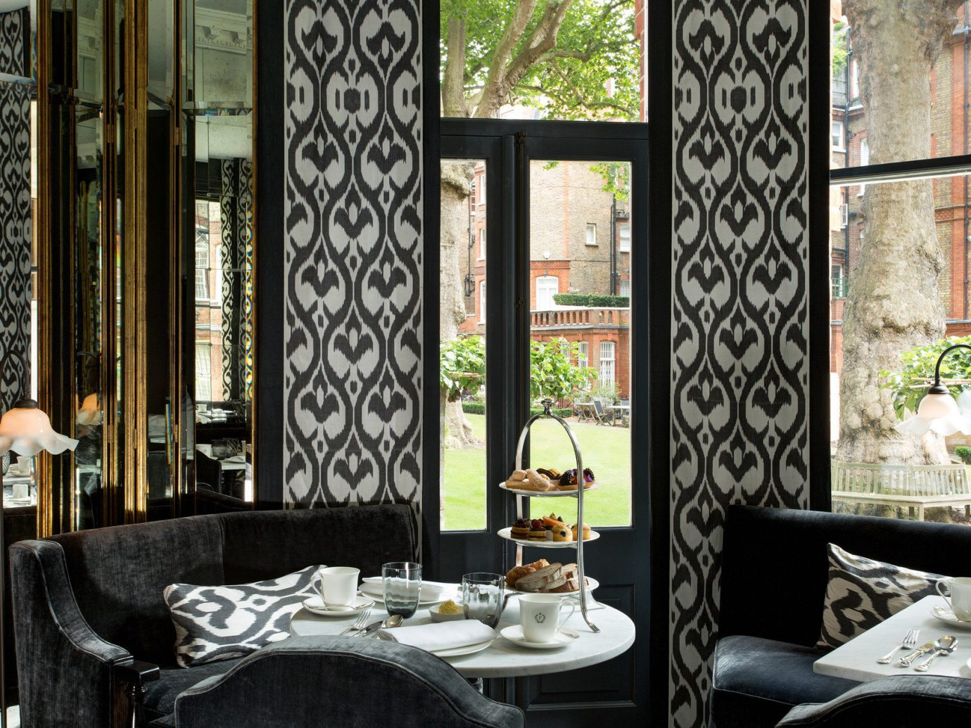 Boutique Hotels Hotels indoor room interior design home window living room curtain window covering estate window treatment Design textile cottage furniture