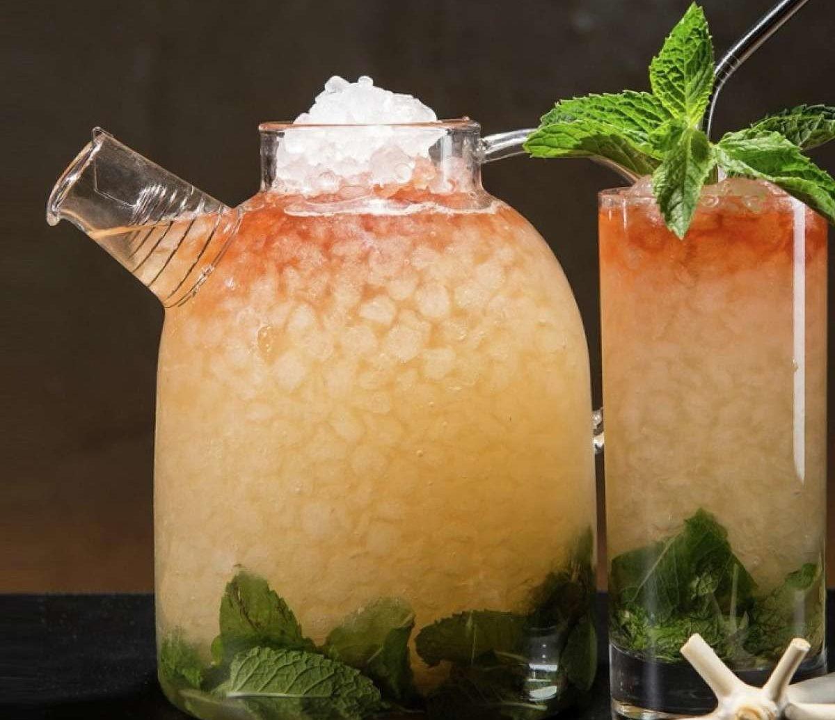 Food + Drink Drink mint julep cocktail alcoholic beverage mojito food mai tai caipirinha produce limeade distilled beverage coconut citrus flowering plant