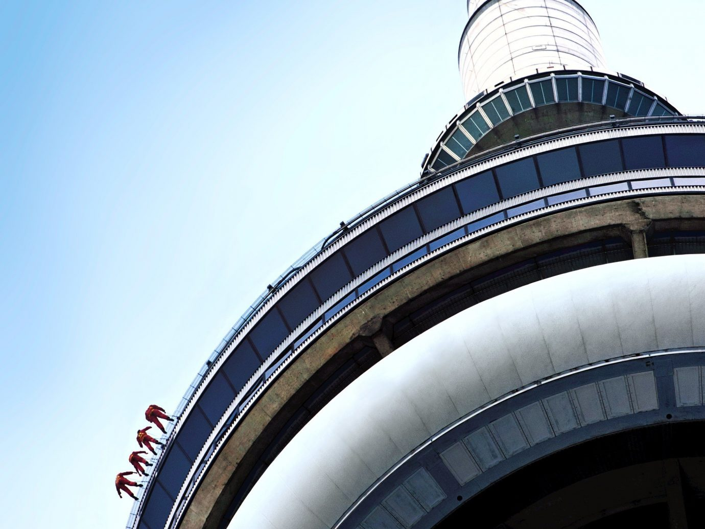 Canada Montreal Toronto Trip Ideas outdoor sky blue landmark tower atmosphere of earth skyscraper reflection dome day