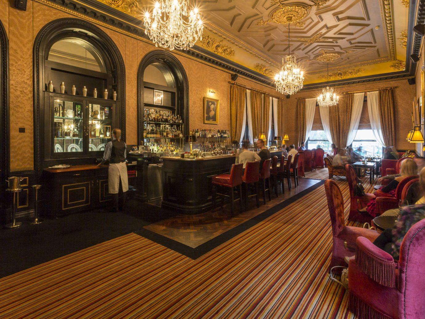 Hotels indoor building Lobby estate restaurant interior design palace Bar hall