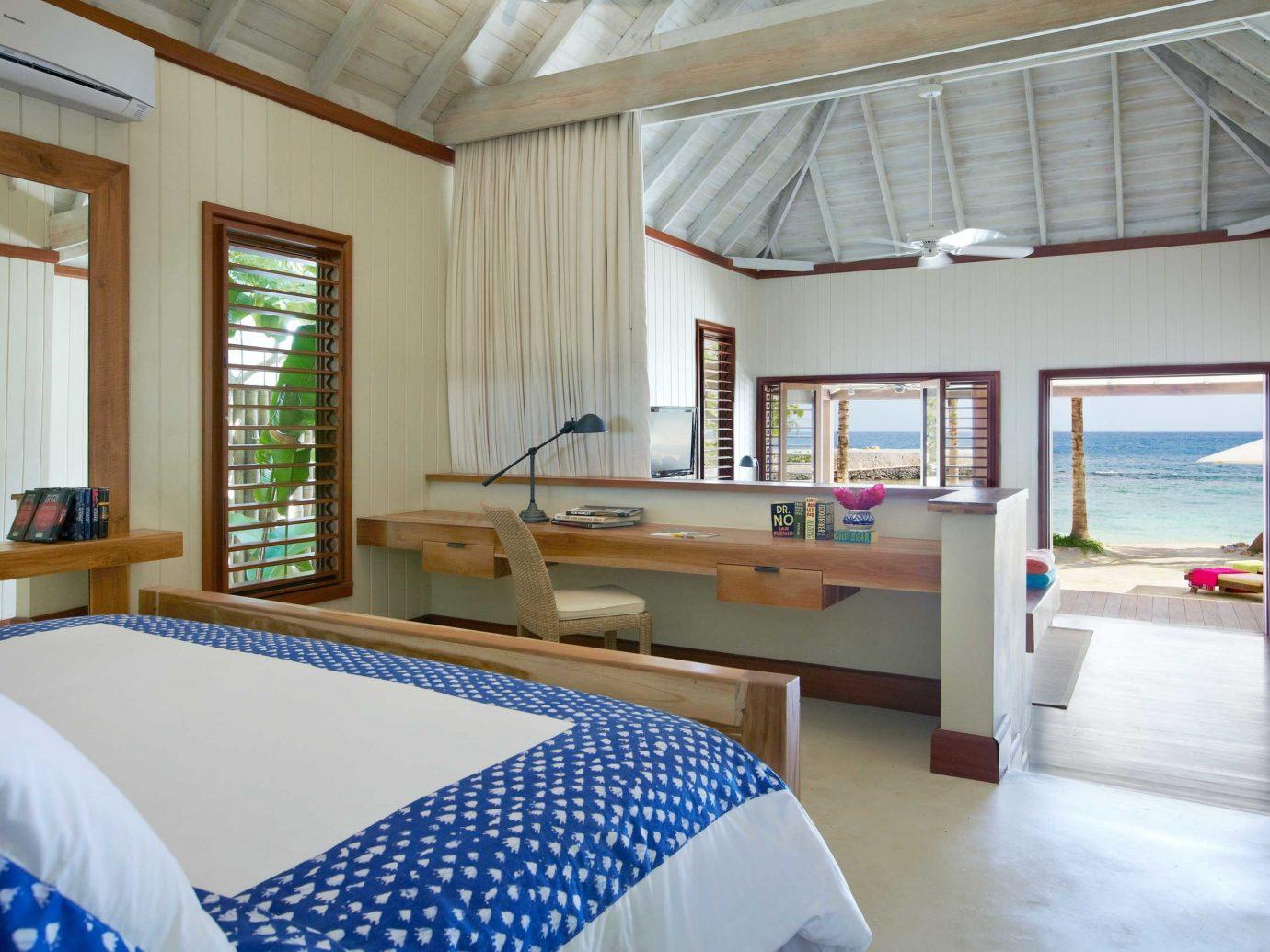 Bedroom at GoldenEye, Jamaica